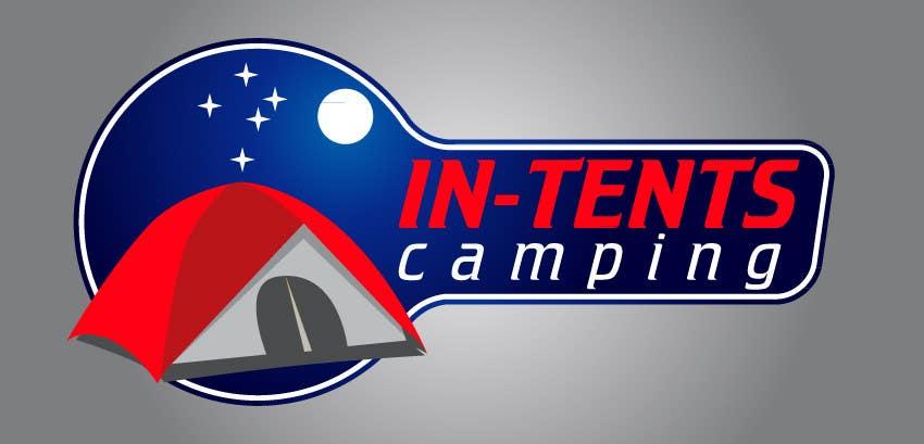 Konkurrenceindlæg #                                        64                                      for                                         Logo Design for In-Tents Camping