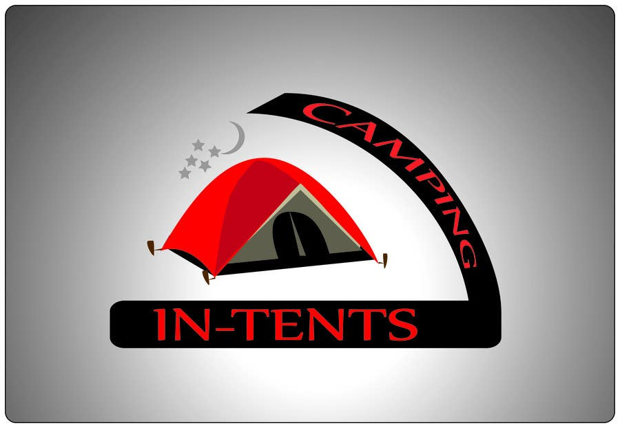 Konkurrenceindlæg #                                        107                                      for                                         Logo Design for In-Tents Camping