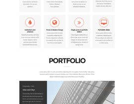 nº 33 pour Design a Wordpress Mockup for portfolio par codeunderground