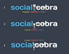 Nro 85 kilpailuun Design a Logo for Social Cobra käyttäjältä wavyline