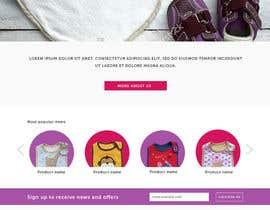 Nro 4 kilpailuun Design a Website Mockup- website name: www.ha-bibs.com.au käyttäjältä ClaudiaWind