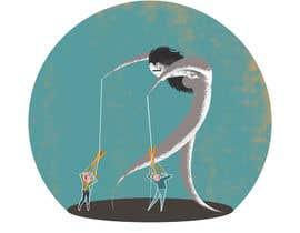Nro 6 kilpailuun Create Puppeteer and Human Puppets illustration for website käyttäjältä DepartmentS