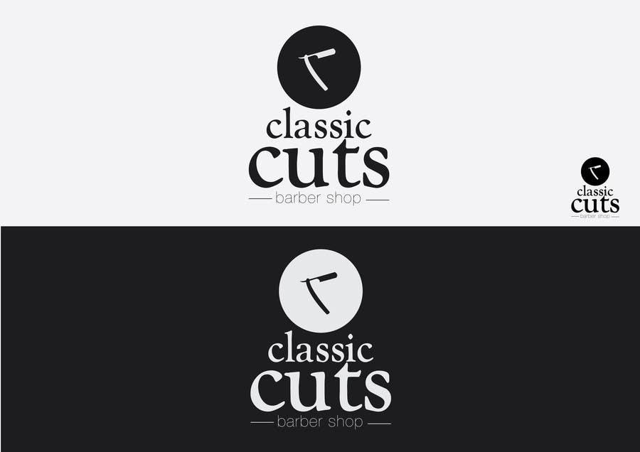 Proposition n°4 du concours Design a Logo for Classic Cuts Barber Shop