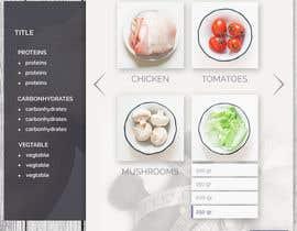 hannaametist tarafından Design a website (MadeMeals.nl) için no 34