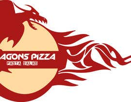 nº 17 pour Develop a new logo for Dragon's Pizza par nathaakshay