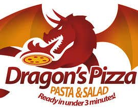 #22 untuk Develop a new logo for Dragon's Pizza oleh romandziemianko