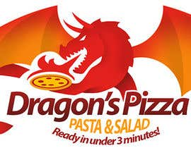 #29 untuk Develop a new logo for Dragon's Pizza oleh romandziemianko