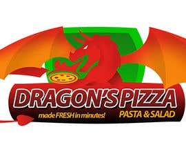 #36 untuk Develop a new logo for Dragon's Pizza oleh romandziemianko