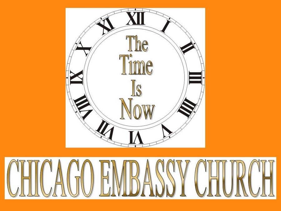 Penyertaan Peraduan #6 untuk Graphic Design for Chicago Embassy Church
