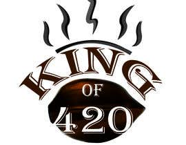 #3 para Design the best logo for Kingof420 por DeeZineM