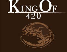 #22 para Design the best logo for Kingof420 por sicreations
