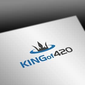 nº 8 pour Design the best logo for Kingof420 par pvcomp