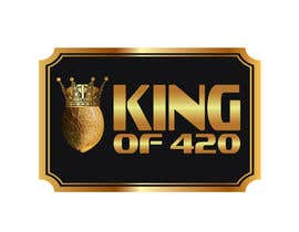 #27 para Design the best logo for Kingof420 por elnestbantolo
