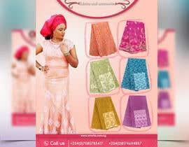 Nro 21 kilpailuun Design a flyer for a fabric store käyttäjältä Mohamedsaa3d