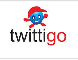 #192 cho Logo Design for twittigo, a touristical and guide service bởi anjaliom