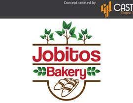 Nro 49 kilpailuun Jobitos Bakery logo design käyttäjältä CasteloGD