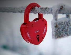 #9 for Beautiful Love Lock by MahaNiva