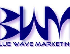 #42 untuk Design a Logo for Blue Wave Marketing Inc oleh NikPatel81