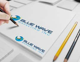 #46 untuk Design a Logo for Blue Wave Marketing Inc oleh LogoFreelancers