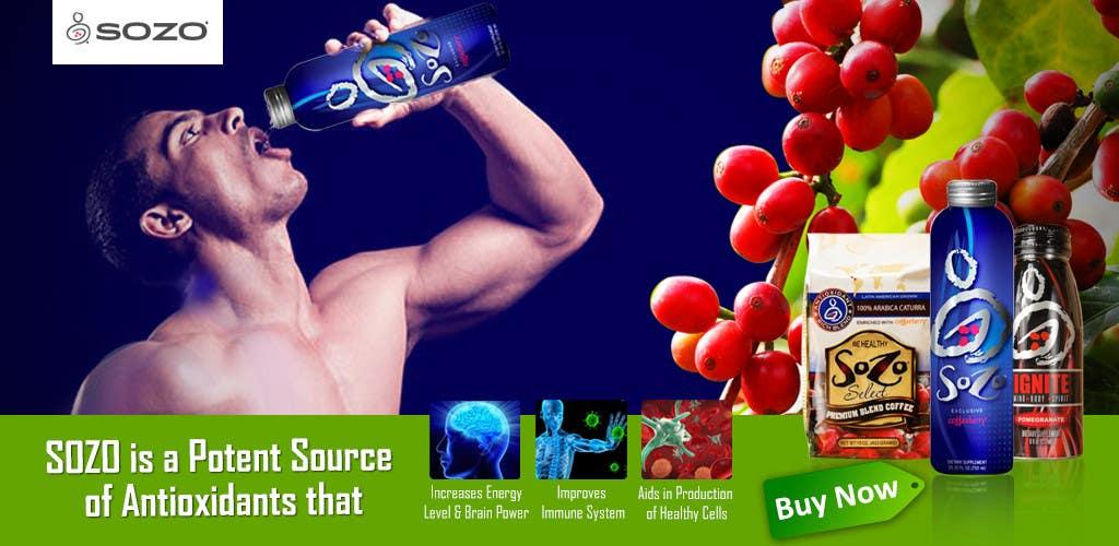 #51 for Create a website header for HealthyGiftIdea.com (healthy drink) by isrijanbamrel
