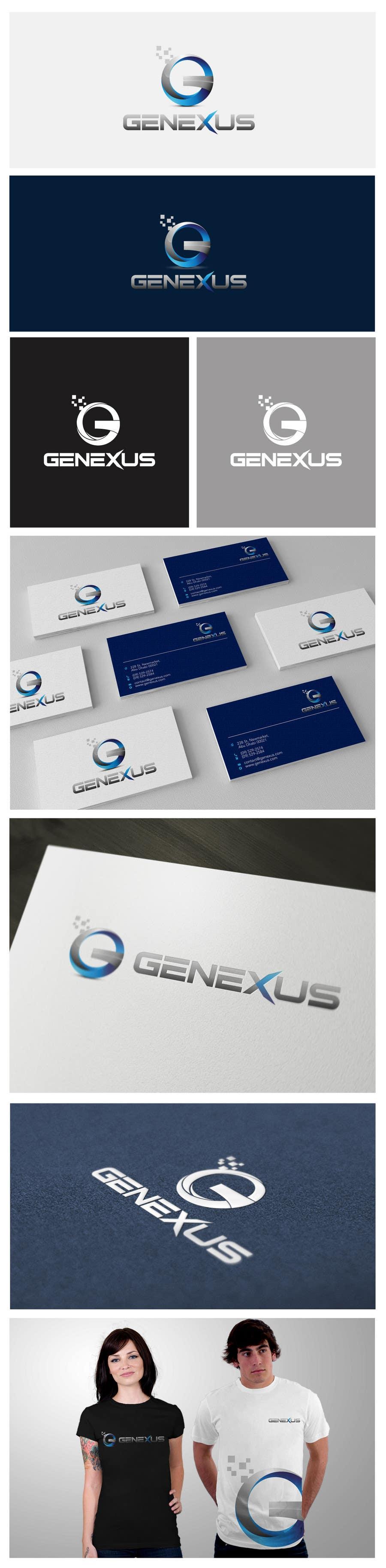 Konkurrenceindlæg #117 for Logo Design for GENEXUS