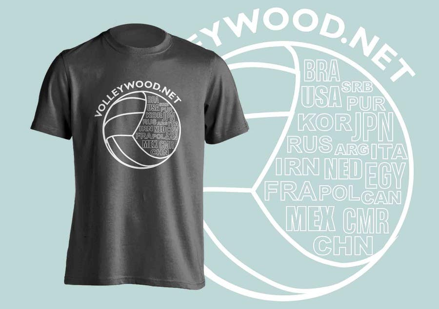 Kilpailutyö #9 kilpailussa Design A Volleyball T-Shirt