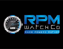 nº 163 pour Design a Logo for RPM watches par dannnnny85
