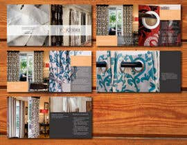 #8 para Design a Brochure for curtain and fabric company por barinix