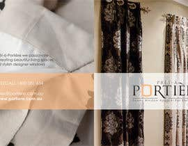 #36 untuk Design a Brochure for curtain and fabric company oleh barinix