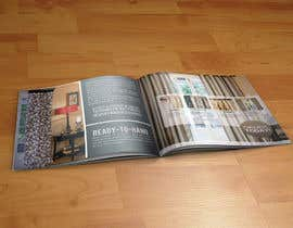 #6 for Design a Brochure for curtain and fabric company af rimskik