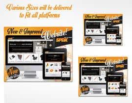 RDesigner04 tarafından Design an eyecatching design to launch our new website için no 6