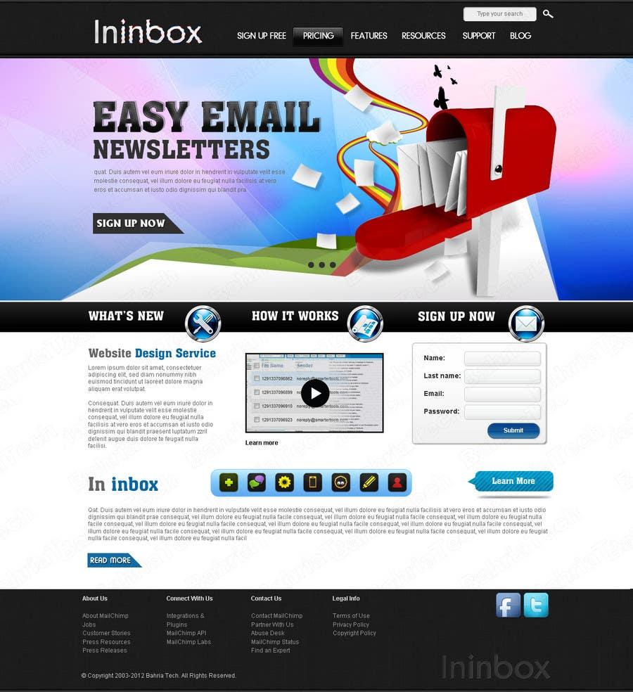 Penyertaan Peraduan #                                        38                                      untuk                                         Website Design for ininbox.com