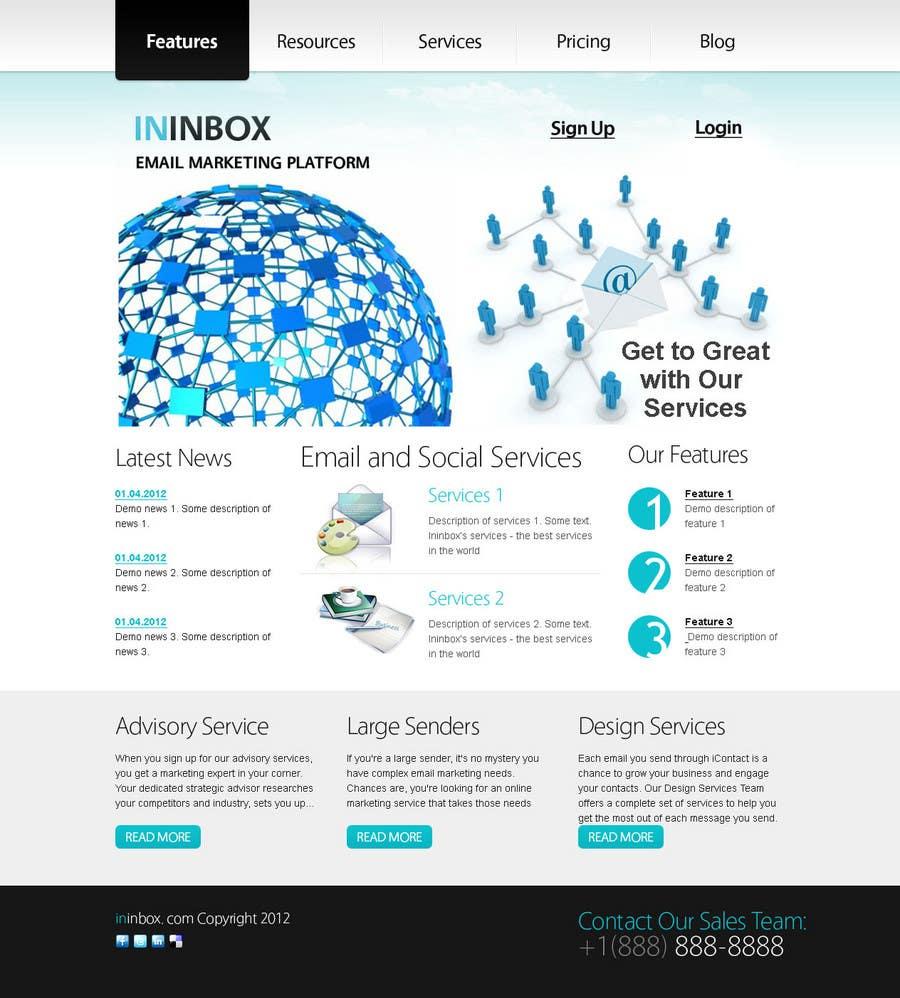 Penyertaan Peraduan #                                        35                                      untuk                                         Website Design for ininbox.com