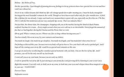 #13 untuk Content Writing for a Valentines Day letter oleh Shivapriya89