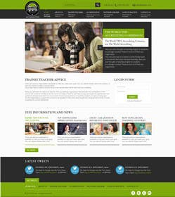 #13 for Design a Website Mockup for educational body... by kreativeminds