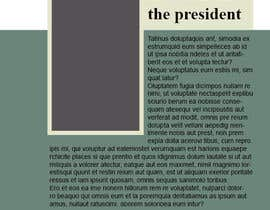 #13 for Template/Theme for Annual Report - InDesign (LAYOUT ONLY - no content) af mohamedismail87