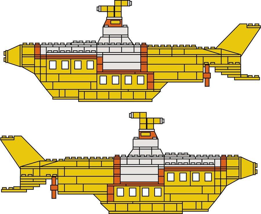 Inscrição nº 3 do Concurso para Lego Submarine Graphic Design 2D