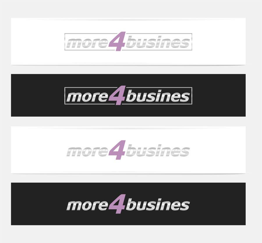 #27 for Design a Logo for More 4 Business by erupt