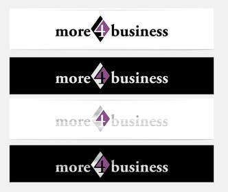 #31 for Design a Logo for More 4 Business by erupt