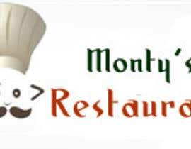 Nro 262 kilpailuun Design a Logo for Monty's Restaurant käyttäjältä preyas0007