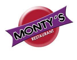 #345 for Design a Logo for Monty's Restaurant af bhcelaya