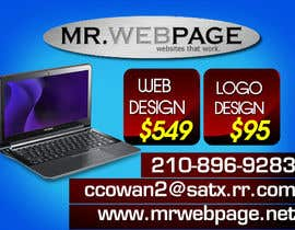#4 for Small Flyer Design - MrWeb by edZartworkZ