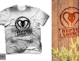 #18 untuk Design a T-Shirt for Reptile Addicts oleh carlamartire