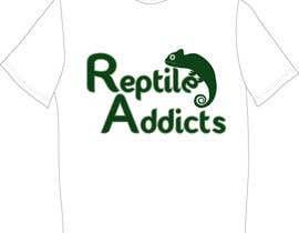 Nro 17 kilpailuun Design a T-Shirt for Reptile Addicts käyttäjältä karenjl