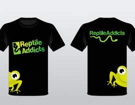 #20 para Design a T-Shirt for Reptile Addicts por ukarunarathna