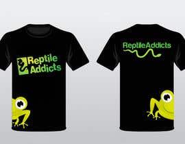 Nro 20 kilpailuun Design a T-Shirt for Reptile Addicts käyttäjältä ukarunarathna