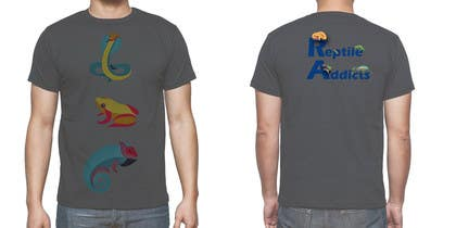 #14 for Design a T-Shirt for Reptile Addicts by akritidas21