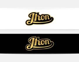 #117 for Design a Logo for jhon by erupt
