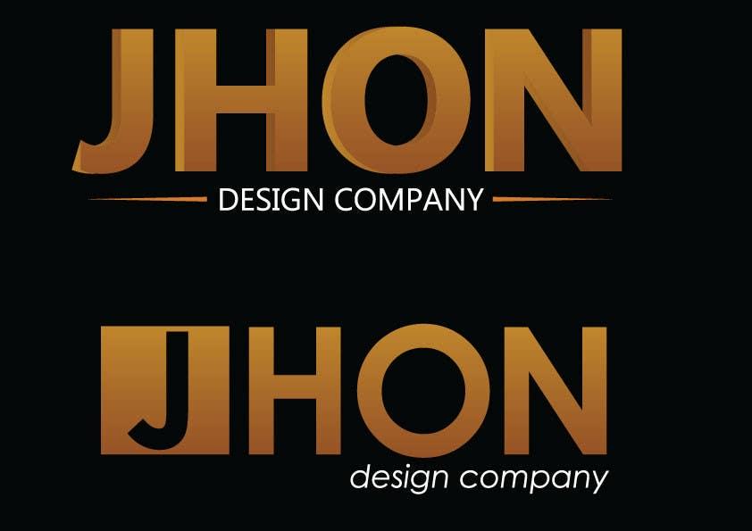 Bài tham dự cuộc thi #75 cho Design a Logo for jhon