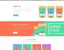 Nro 1 kilpailuun Design a WordPress Mockup for health site käyttäjältä Hamzu1
